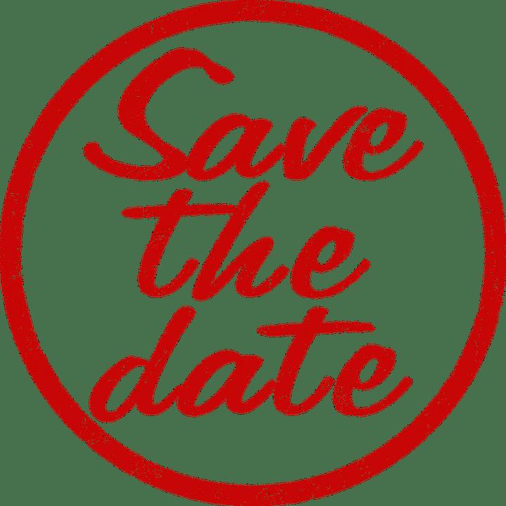 Save the date transparent clipart jpg black and white download Save the Date Stamp transparent PNG - StickPNG jpg black and white download