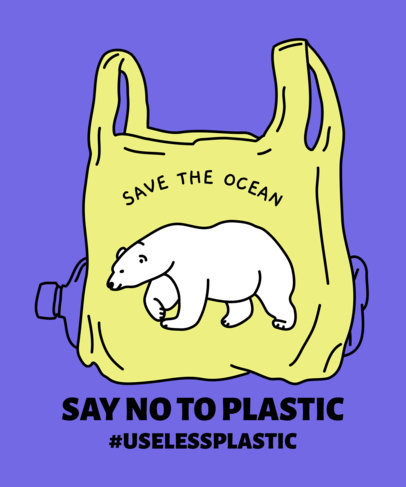 Save the ocean clipart clip art free Placeit - Save the Ocean T-Shirt Design Maker Featuring ... clip art free
