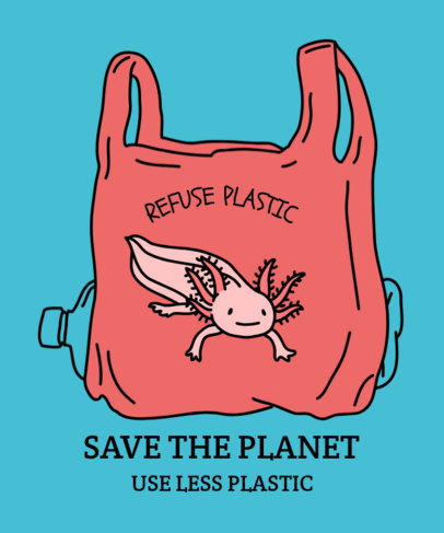 Save the ocean clipart image freeuse Placeit - Save the Ocean T-Shirt Design Maker Featuring ... image freeuse