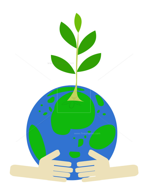 Save the planet clipart clip art royalty free Save Earth-Save Tree-clip art | Free vectors, illustrations ... clip art royalty free