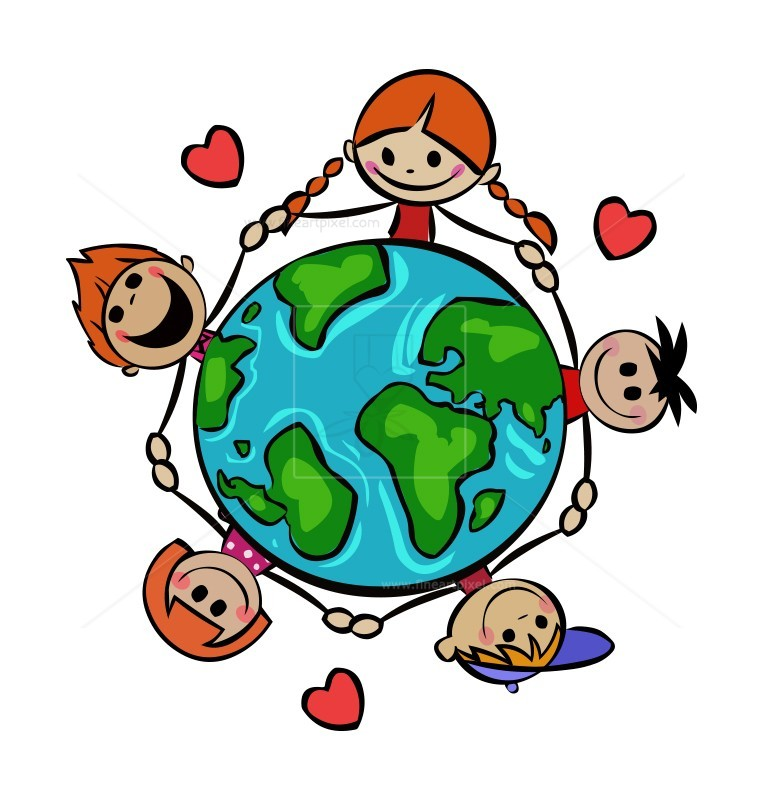 Save the world free clipart jpg freeuse download Save Our Planet (Stick figure kids) | Free vectors, illustrations ... jpg freeuse download
