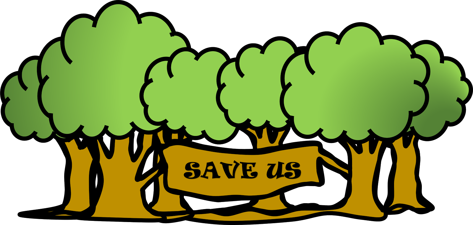 Save a tree clipart - ClipartFest picture download
