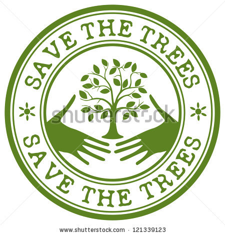Save trees clipart banner free Save Trees Stamp Stock Vector 121339123 - Shutterstock banner free