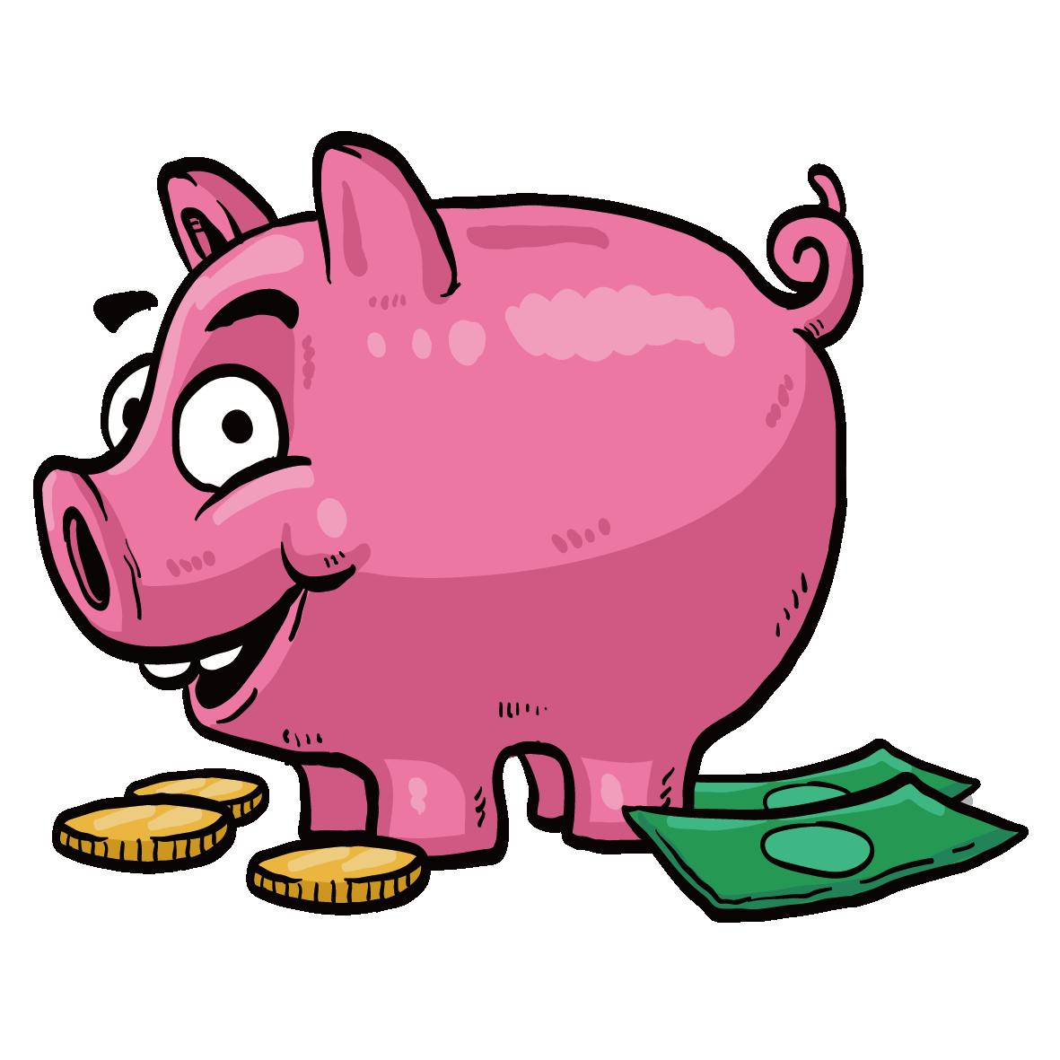 Saving money piggy bank clipart jpg freeuse stock Saving Money Piggy bank Clip art - Piggy bank 1181*1181 transprent ... jpg freeuse stock