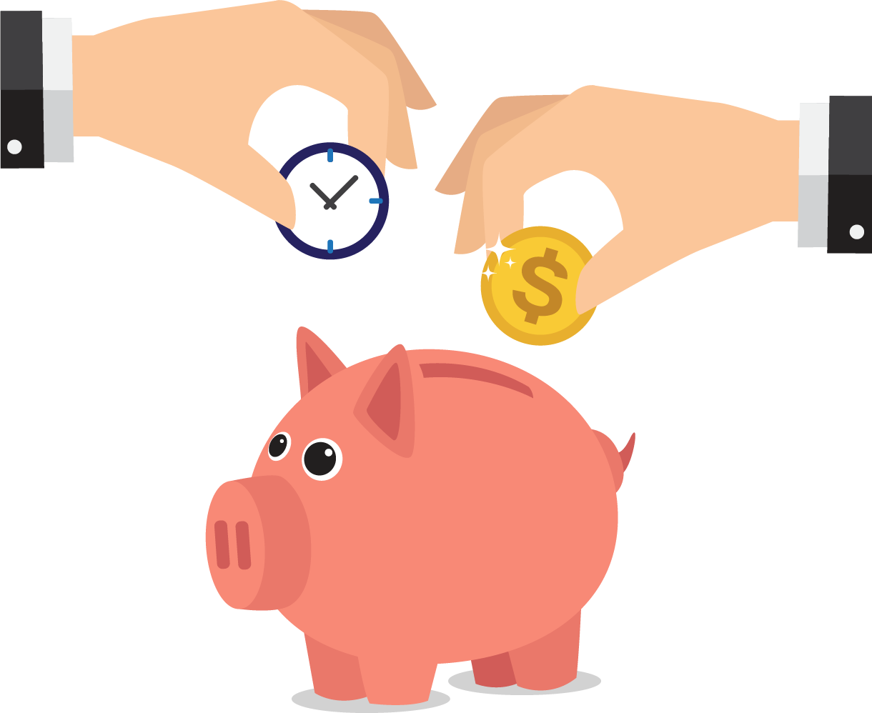Saving money piggy bank clipart free library Piggy bank Saving Money - Pink piggy banks 1220*998 transprent Png ... free library