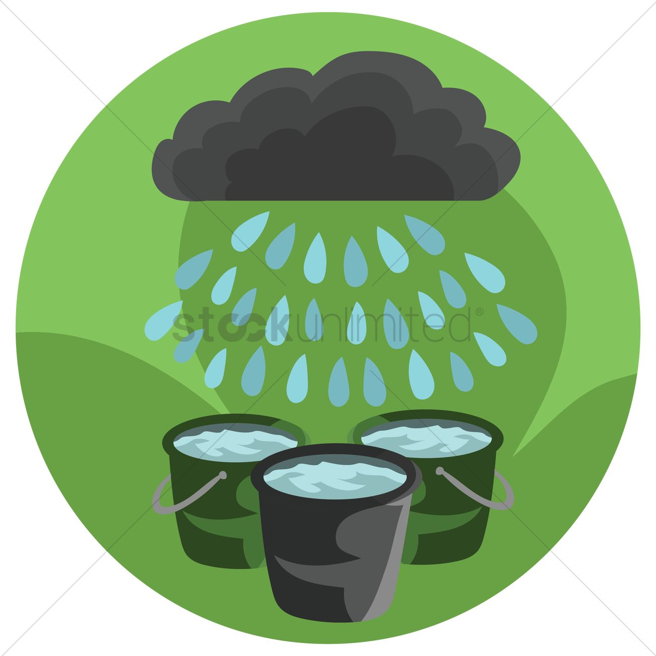 Saving the harvest clipart banner Free Saving of rain water Vector Image - 1259090 ... banner