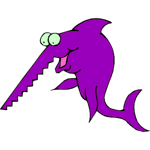 Sawfish clipart clipart free library Sawfish clipart, cliparts of Sawfish free download (wmf, eps ... clipart free library