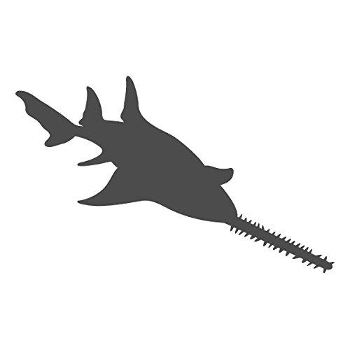 Sawfish clipart freeuse stock Amazon.com: Saw tooth Sawshark Sawfish Shark - Vinyl Decal ... freeuse stock