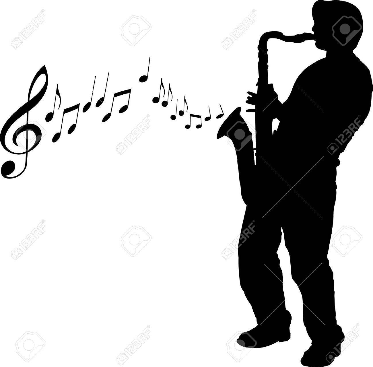 Sax player clipart image royalty free stock Sax player clipart 1 » Clipart Portal image royalty free stock