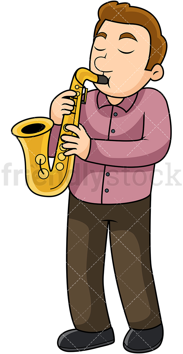 Sax player clipart png freeuse library Sax Player Cliparts - Making-The-Web.com png freeuse library