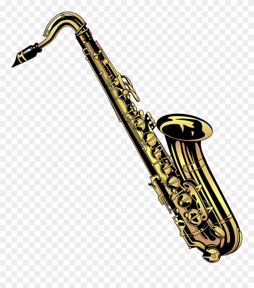 Saxofono clipart png royalty free stock Band Saxophone Clip Art - Saxophone Clipart - Png Download ... png royalty free stock