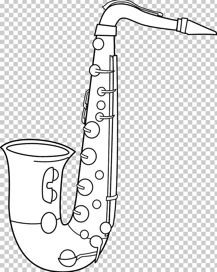 Saxophone clipart black and white banner transparent stock Alto Saxophone Black And White Tenor Saxophone PNG, Clipart ... banner transparent stock