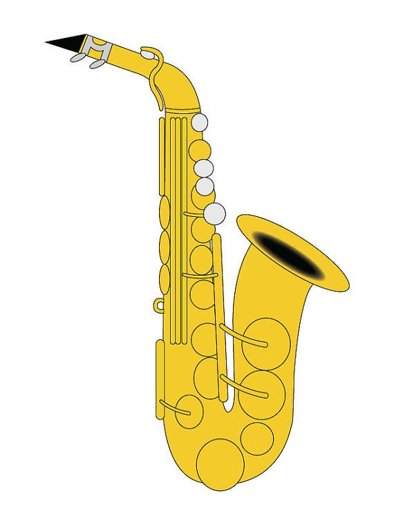 Saxophone images clipart library Saxophone Clipart & Look At Clip Art Images - ClipartLook library