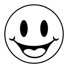 Say cheese kid face black and white clipart picture library stock 97 Best Cricut - Clipart Emoticon images in 2019 | Emoticon ... picture library stock