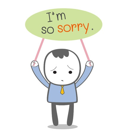 Saying sorry clipart png transparent Learning to Say I\'m Sorry - Emerging Nurse Leader png transparent