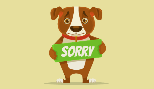 Saying sorry clipart transparent How to Write a Customer Apology Letter – With an Example transparent