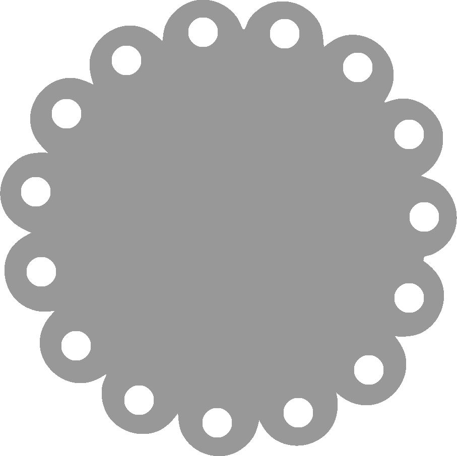 Scallop edge circle clipart black and white clip black and white library Free Scallop Cliparts, Download Free Clip Art, Free Clip Art ... clip black and white library