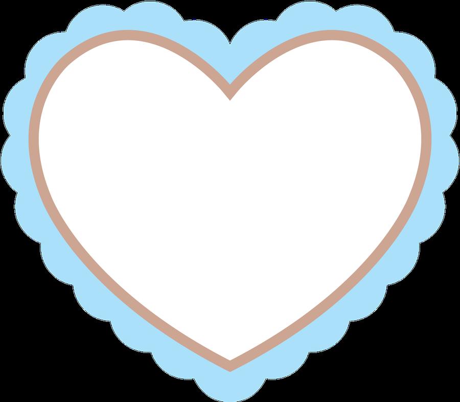Scalloped heart clipart graphic royalty free Ursinhos e ursinhas - Minus | Corações | Pinterest | Clip art, Scrap ... graphic royalty free