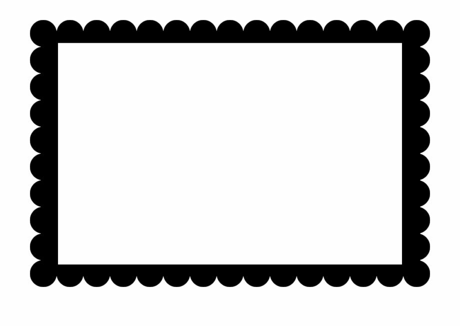 Scallopped edge clipart picture Scalloped Frame Clipart - Scalloped Edge Border - scalloped ... picture