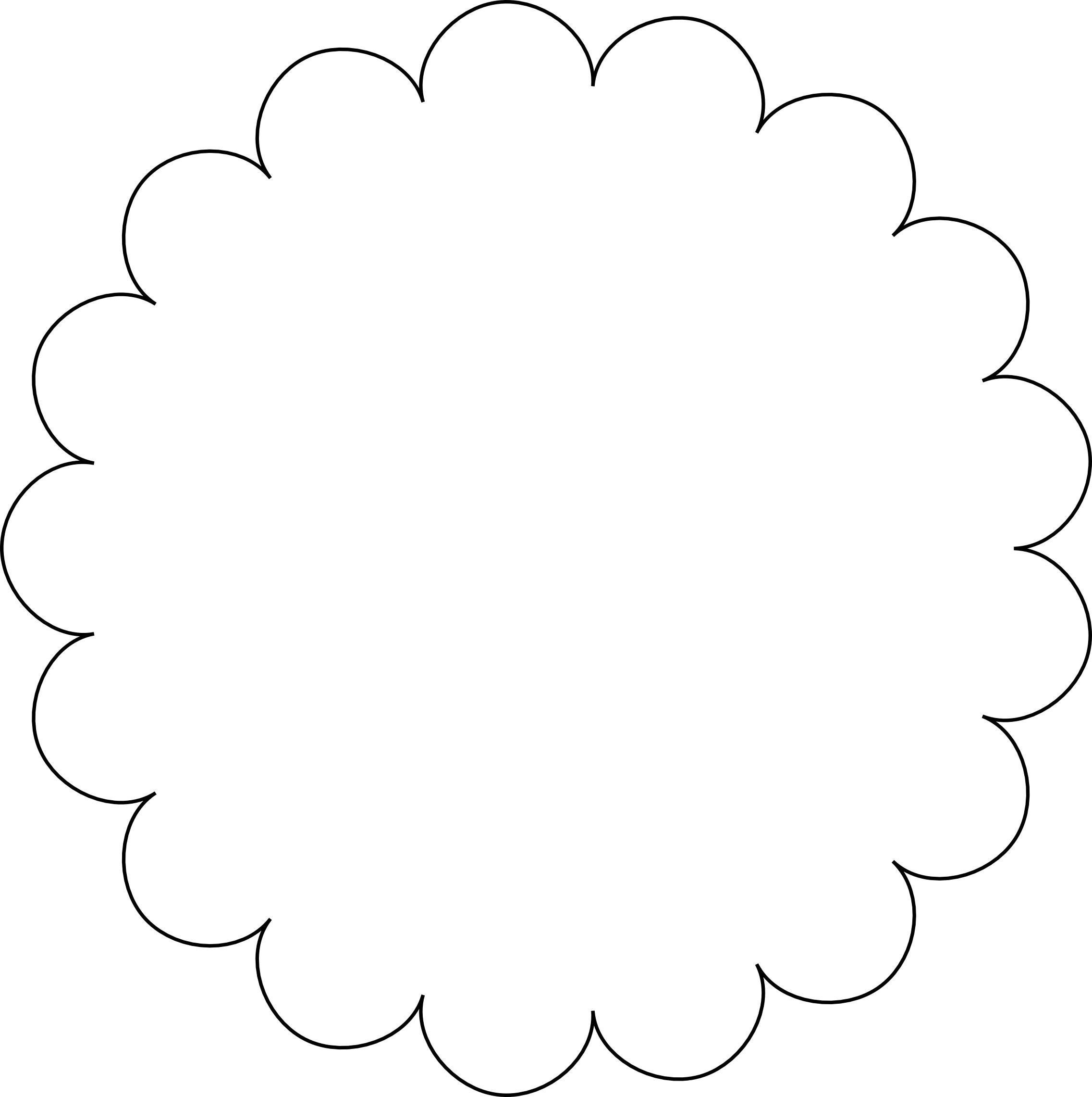Scallopped edge clipart clipart freeuse library Scalloped Edge Border Clipart | Clip Art and Line Drawings ... clipart freeuse library