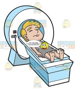 Scan clipart png transparent download A Male Patient Undergoing An Mri Scan png transparent download