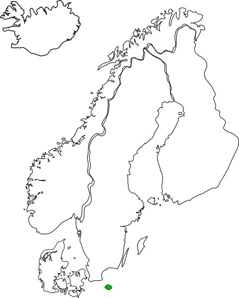 Scandinavia clipart graphic black and white library Blank Scandinavia Clip Art at Clker.com - vector clip art ... graphic black and white library