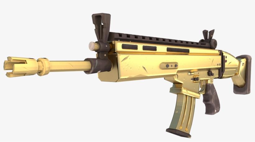 Scar de fortnite clipart picture royalty free Fortnite Battle Royale Weapon Firearm Fn Scar - Fortnite ... picture royalty free