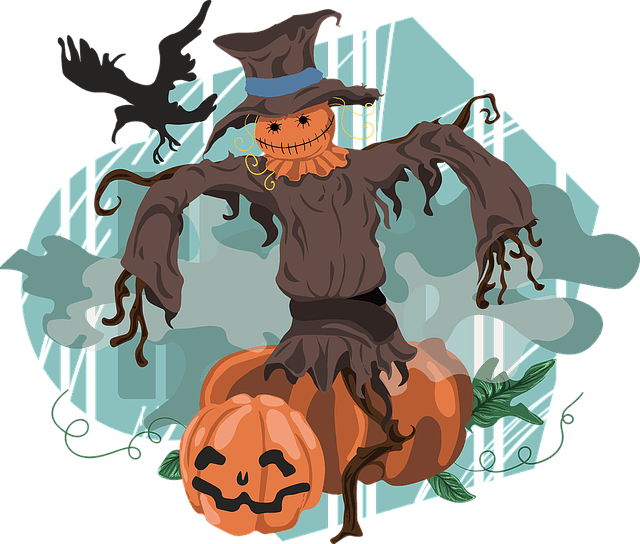 Scarecrow and pumpkin clipart png free stock Scarecrow Jokes | Fun Kids Jokes png free stock