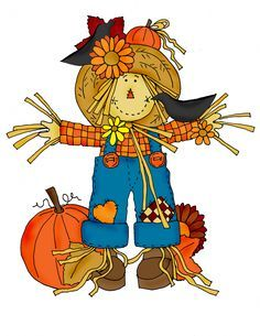 Scarecrow clipart clip free download Primitive scarecrow clip art primitives clipart   Halloween ... clip free download