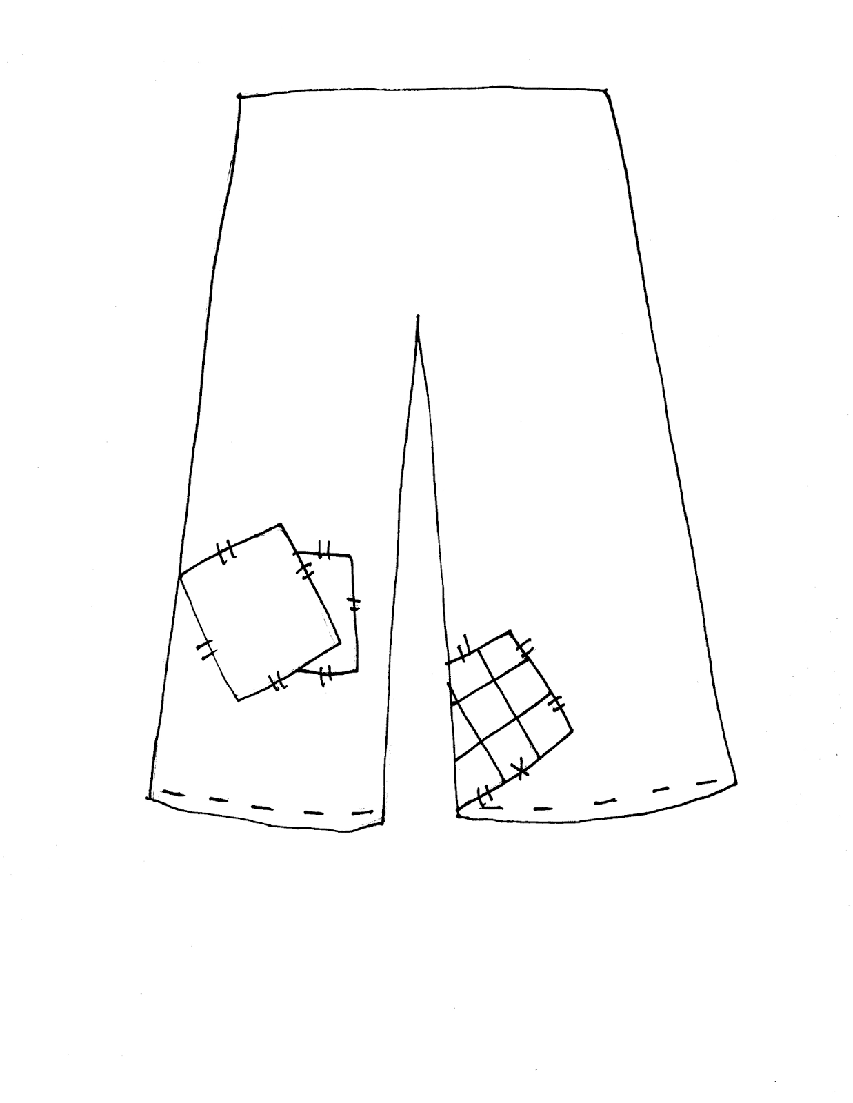 Scarecrow shirt clipart