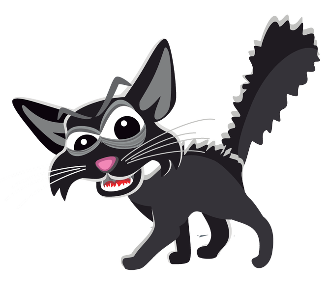 Scared cat clipart png royalty free library Scared Cat Stock Photo - The Best Cat 2017 png royalty free library