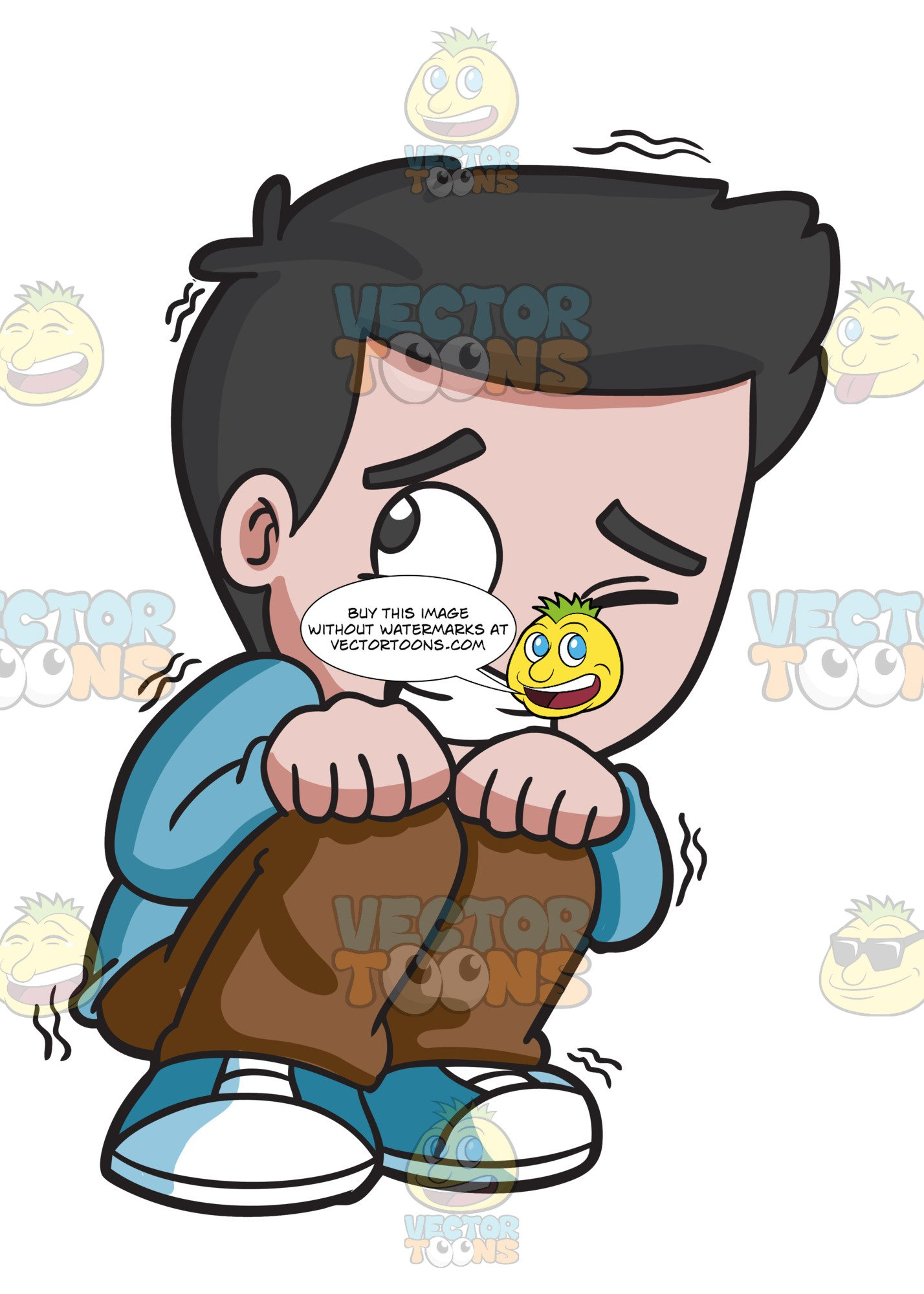Scared child clipart library A Scared Young Boy library