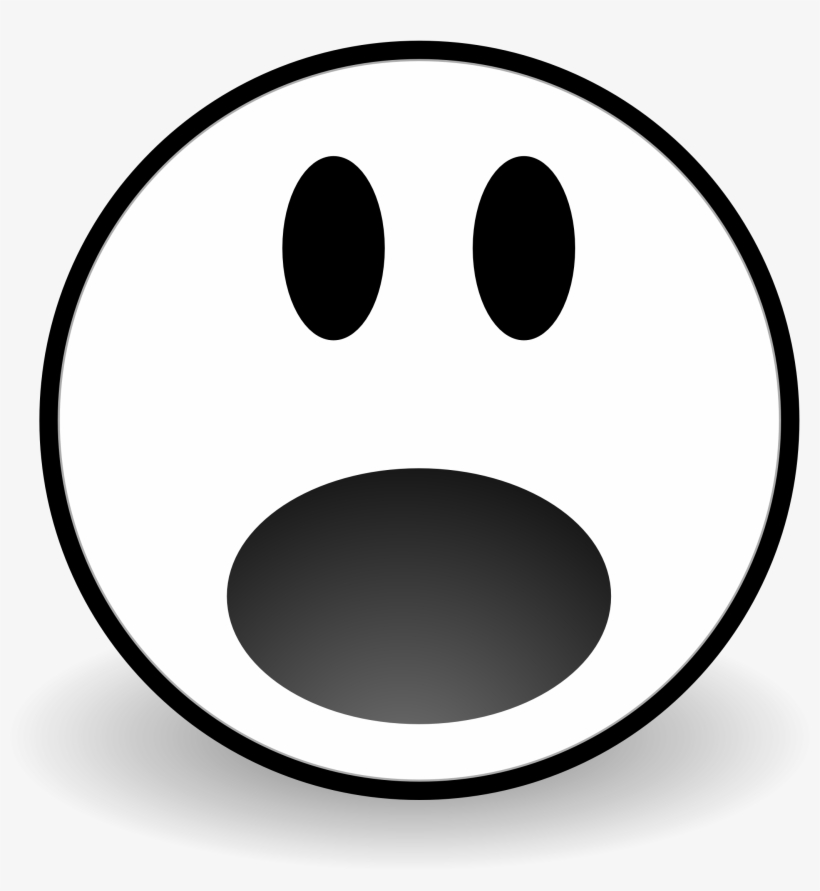 Scared clipart face clipart freeuse library Scared Face Clipart - Afraid Face Black And White Clipart ... clipart freeuse library