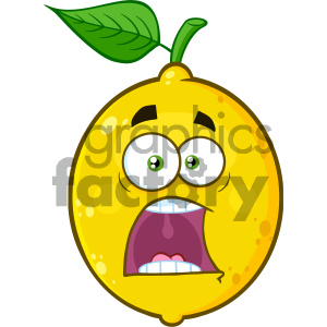 Scared face white background clipart picture transparent stock Royalty Free RF Clipart Illustration Scared Yellow Lemon Fruit Cartoon  Emoji Face Character With Expressions A Panic Vector Illustration Isolated  On ... picture transparent stock
