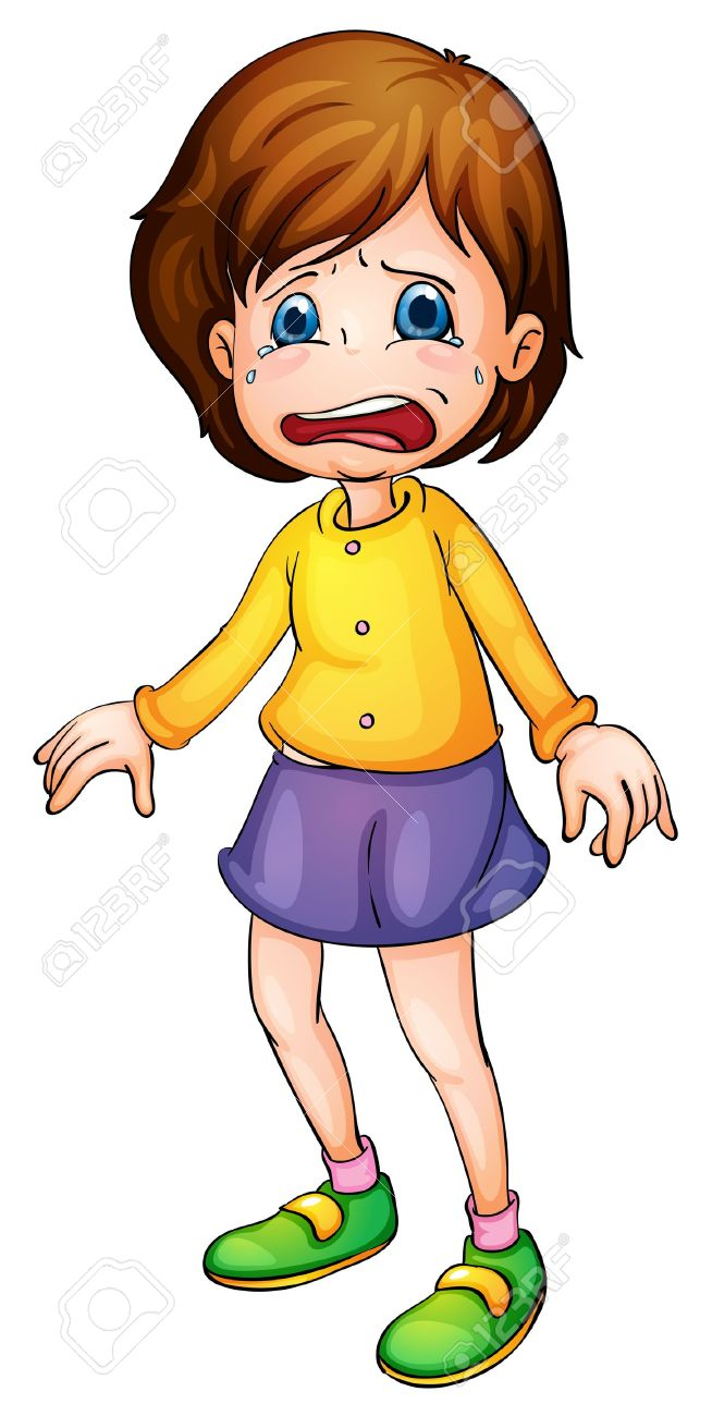 Scared girl clipart graphic library Scared Cartoon Girl Group with 71+ items graphic library