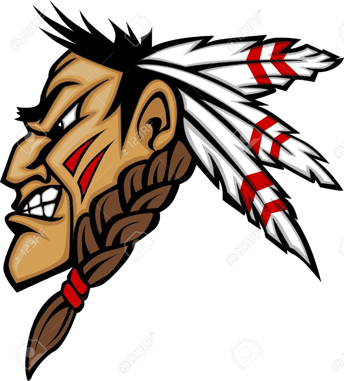 Scared native american indian with spear clipart picture royalty free Indian Feather Clipart | Free download best Indian Feather ... picture royalty free