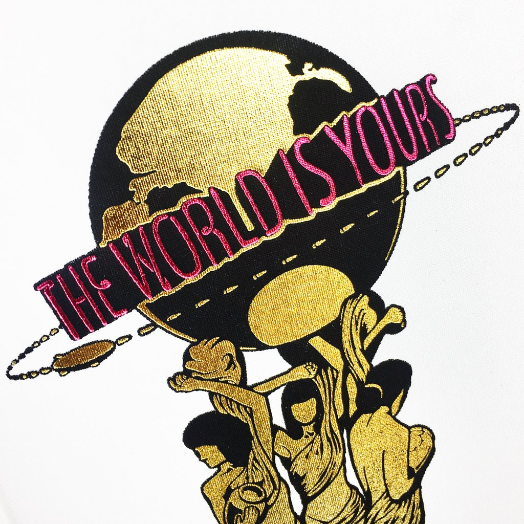 Scarface the world is yours clipart clip royalty free stock The World Is Yours\