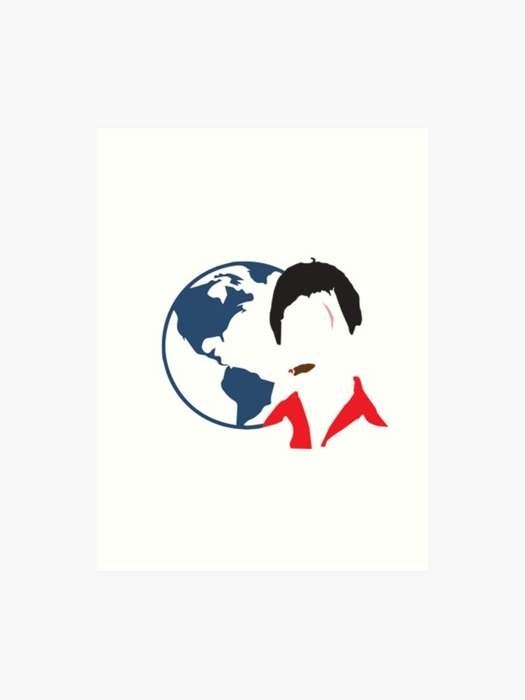 Scarface the world is yours clipart image free download Scarface - The World IS YOURS   Art Print image free download