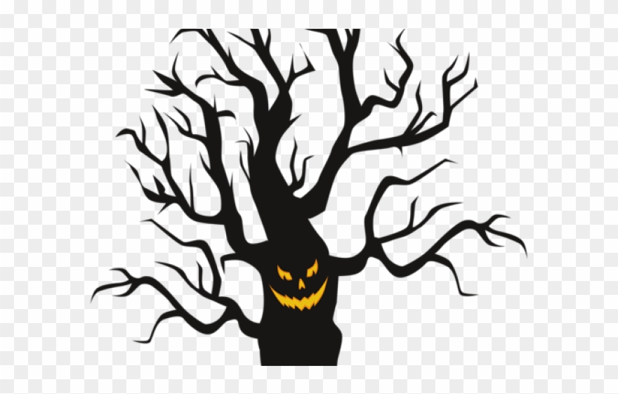 Scary clipart svg transparent library Scary Clipart Tree - Png Download (#2341283) - PinClipart svg transparent library