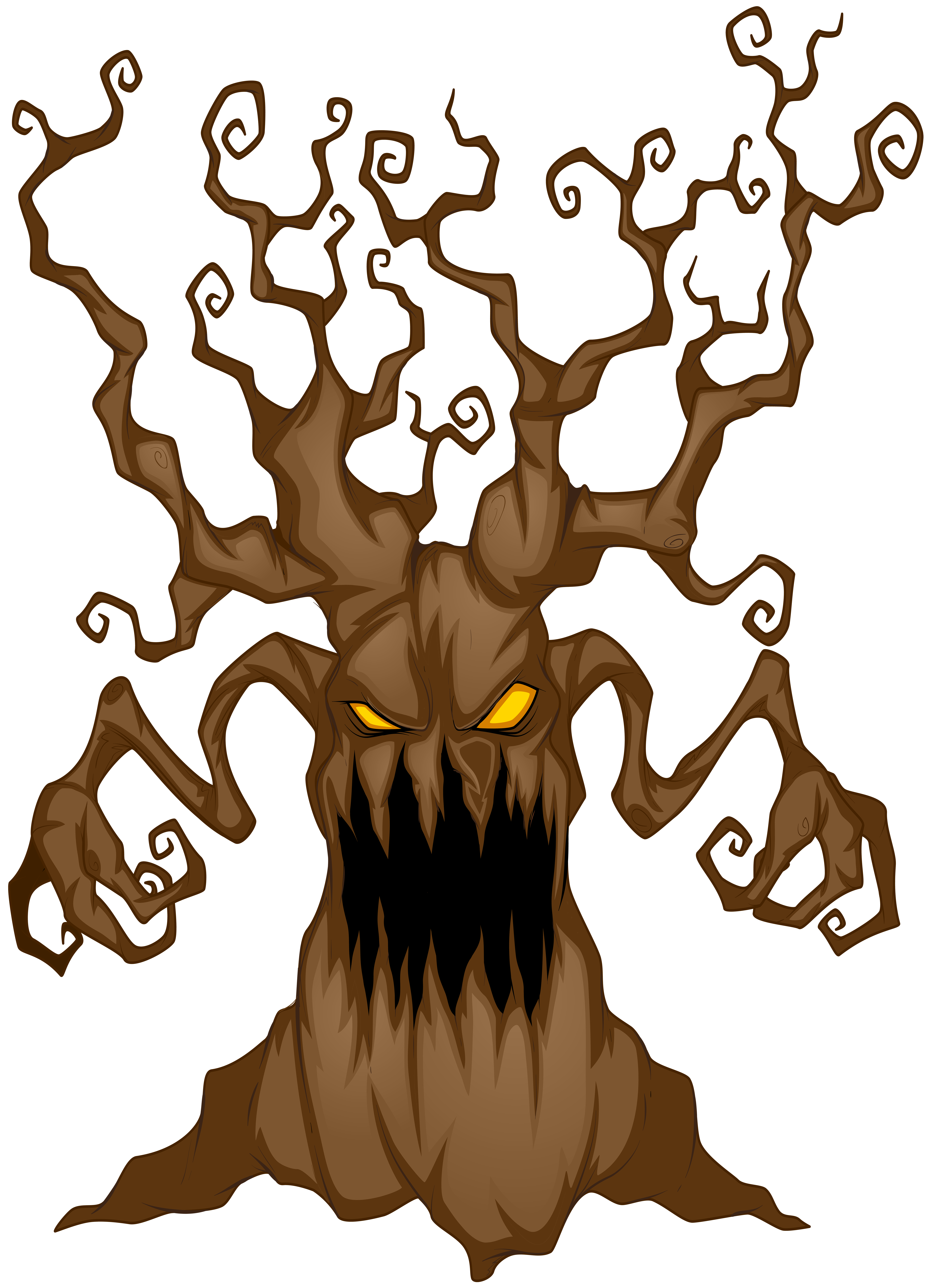Scary clipart free stock Halloween Scary Tree PNG Clip Art Image | Gallery ... free stock