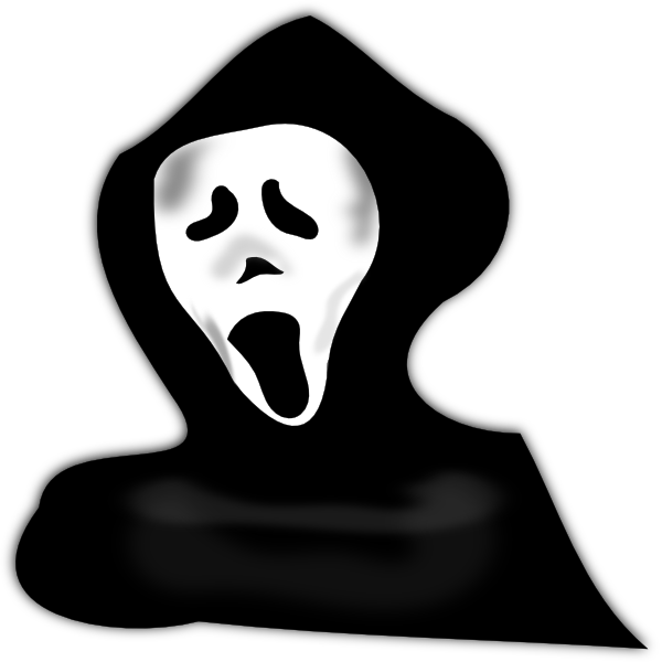 Scary clipart picture royalty free Ghost Scary Clip Art at Clker.com - vector clip art online ... picture royalty free