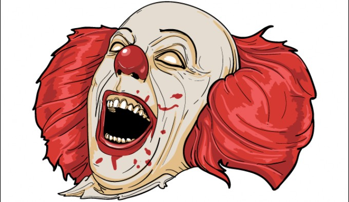 Scary clown clipart picture free 69+ Scary Clown Clipart | ClipartLook picture free