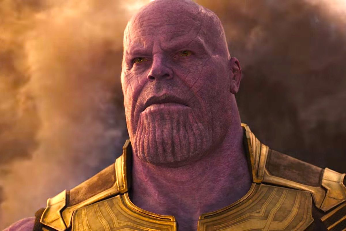 Scary man with beard clipart with bad appearance clip free Infinity War\'s Thanos proves CGI supervillains are a ... clip free
