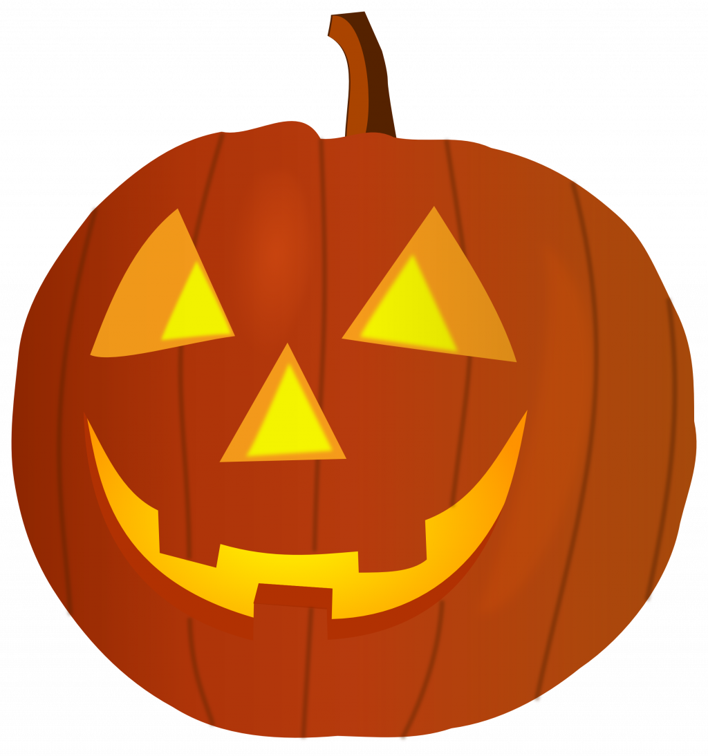 Scary pumpkin clipart black and white image freeuse stock Happy Halloween Clipart Black And White | Free download best Happy ... image freeuse stock