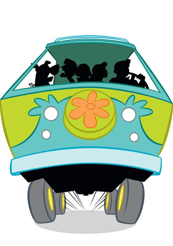 Scary pumpkin scooby doo clipart freeuse library Mystery Machine freeuse library