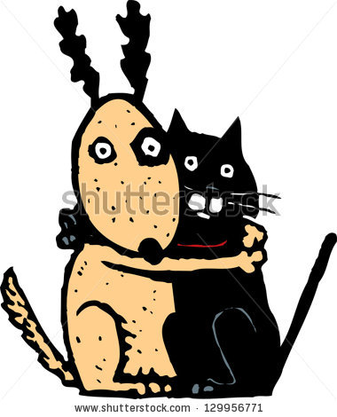 Scary small dog clipart image free download Scared Dog Stock Images, Royalty-Free Images & Vectors | Shutterstock image free download