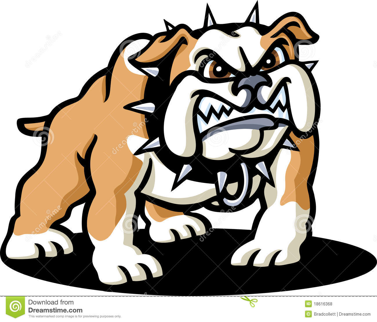 Scary small dog clipart picture free stock Scared bulldog clipart - ClipartFest picture free stock