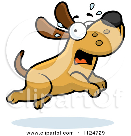 Scary small dog clipart picture freeuse Scared Dog Clipart - Clipart Kid picture freeuse