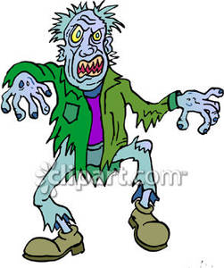 Scary zombie clipart clipart free download A Scary Zombie - Royalty Free Clipart Picture clipart free download