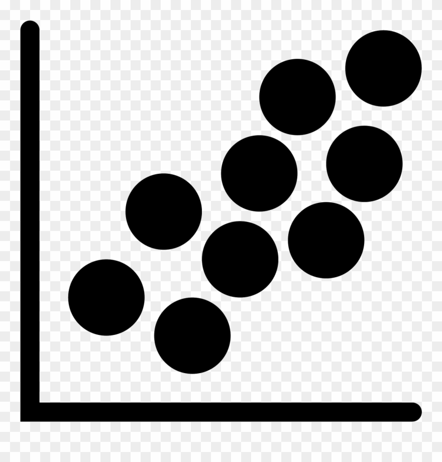 Scatter plot clipart vector royalty free download Scatter Plot Filled Icon - Circle Clipart (#3304775 ... vector royalty free download